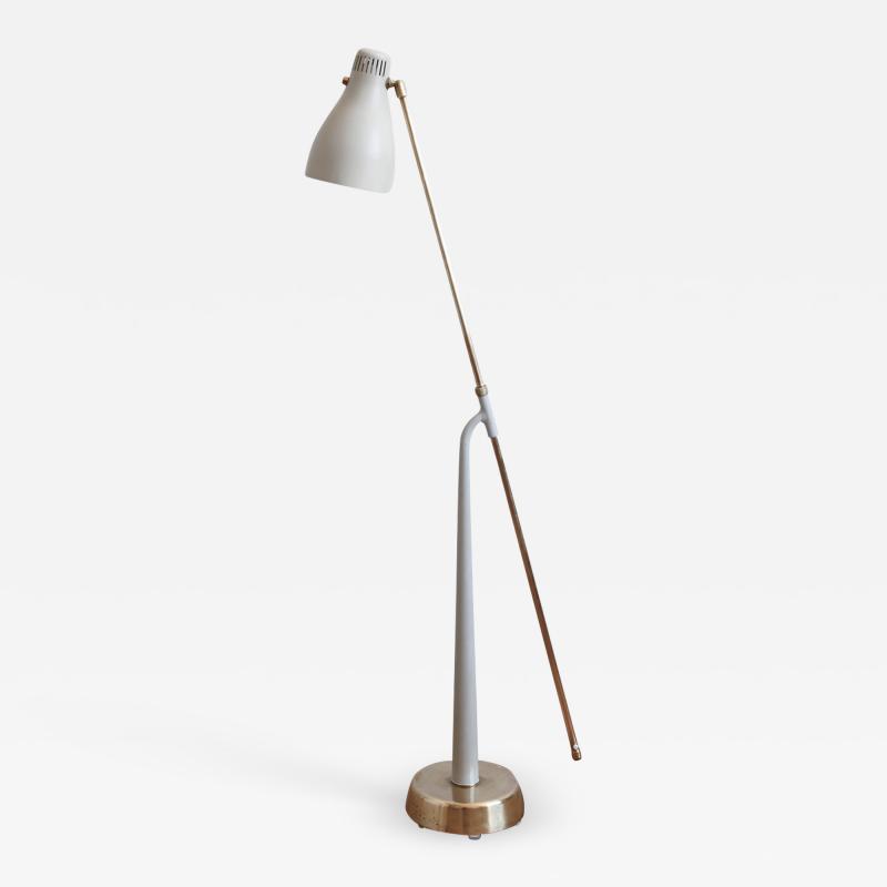 Hans Bergstr m Model 541 Floor Lamp by Hans Bergstr m for Atelj Lyktan