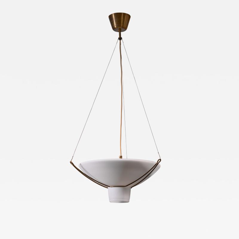 Hans Bergstr m One of two Hans Bergstrom Folklampan pendants for Atelje Lyktan