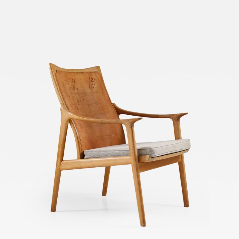 Hans Brattrud Scandinavian Lounge Chair Model 4093 by Hans Brattrud Norway