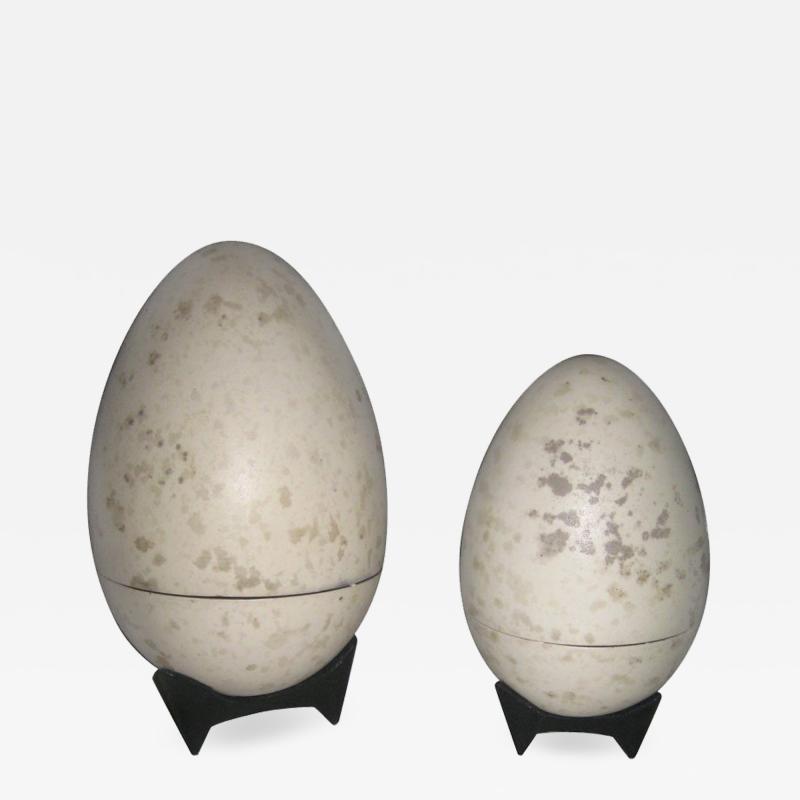 Hans Hedberg Giant Hans Hedberg Ceramic Egg Boxes