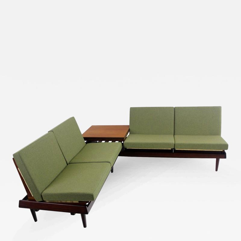 Hans Olsen Danish Modern Modular Seating Group Designed by Hans Olsen