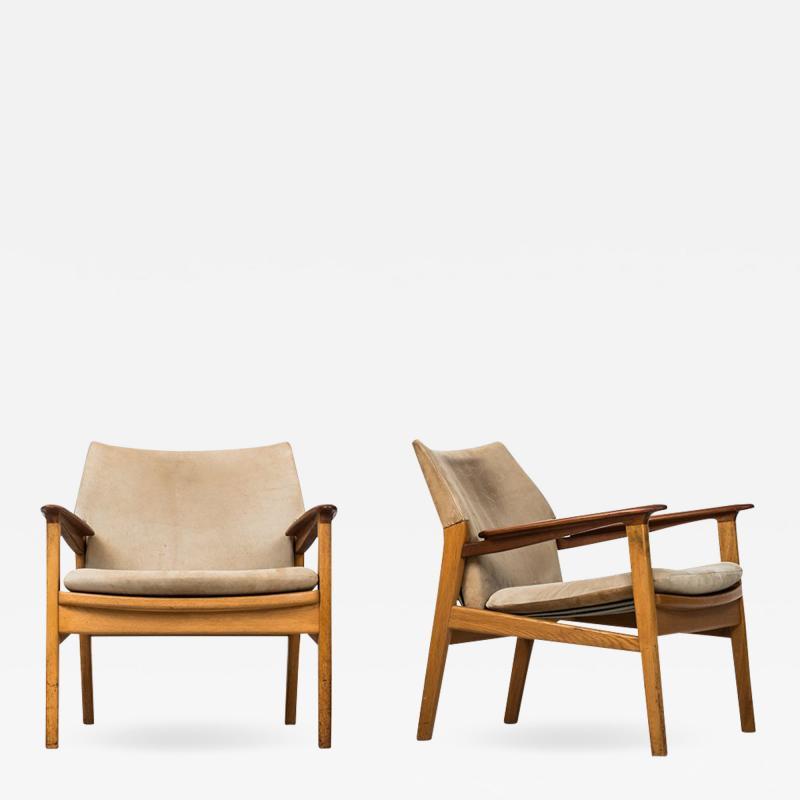 Hans Olsen Hans Olsen Easy Chairs Model 9015 Produced by G rsn s in Sweden