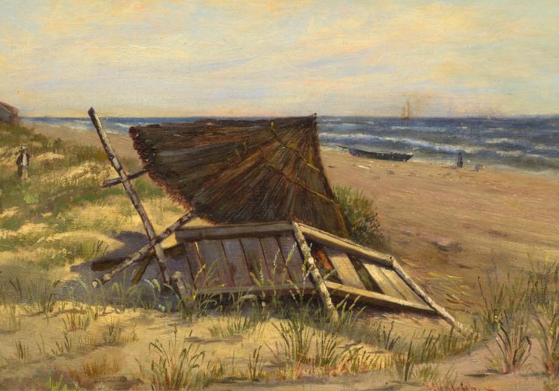 Hans Schleich On the Beach