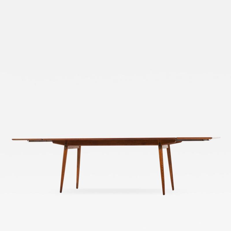 Hans Wegner Dining Table Model JH 570 Produced by Cabinetmaker Johannes Hansen