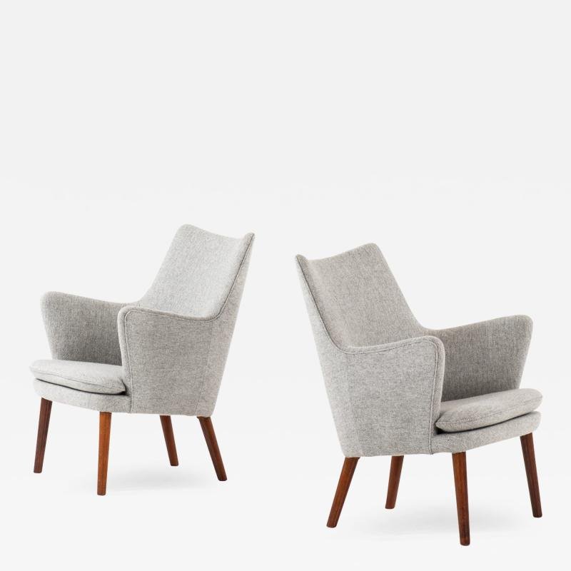 Hans Wegner Easy Chairs Model AP20 Produced by A P Stolen