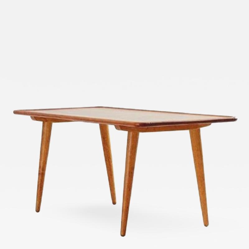Hans Wegner HANS J WEGNER TEAK COFFEE TABLE ANDREAS TUCK DENMARK 1950S