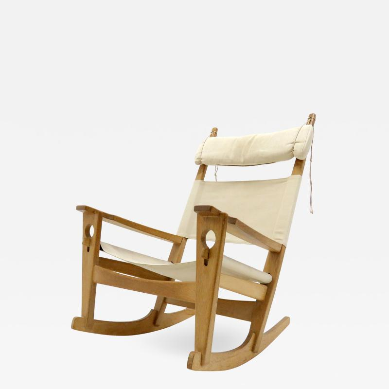 Hans Wegner Hans J Wegner Keyhole Rocking Chair 1967