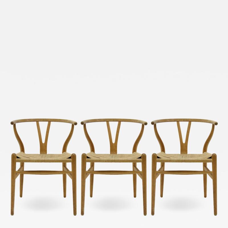 Hans Wegner Hans J Wegner Model CH 24 Dining Chairs 1950