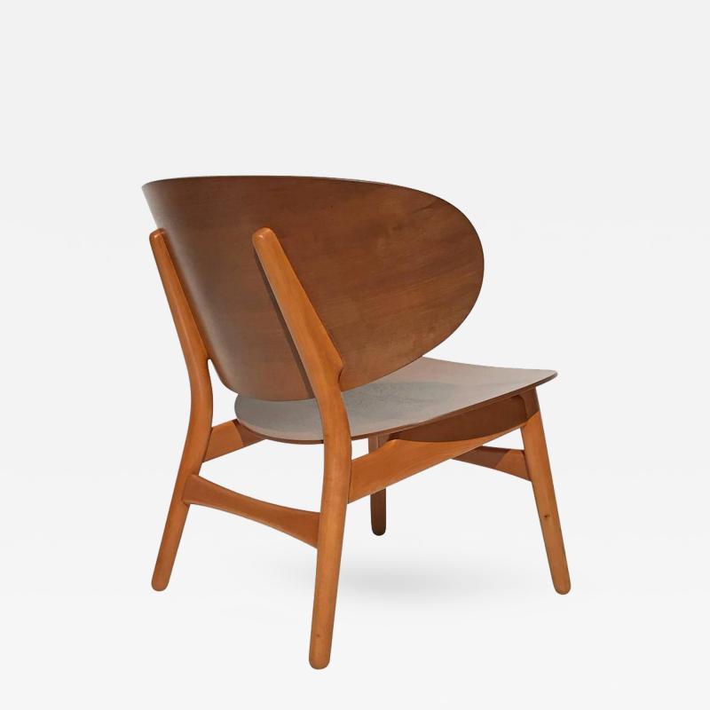 Hans Wegner Hans Wegner Laminated Walnut Shell Chair