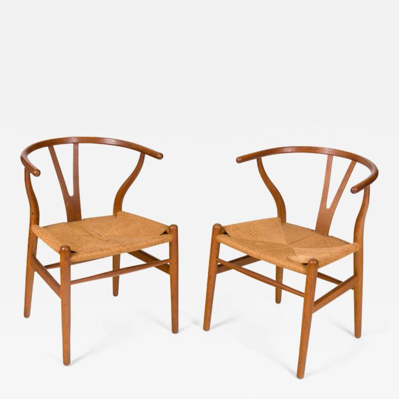 Hans Wegner Hans Wegner Model CH24 Wishbone Chair for Carl Hansen Son