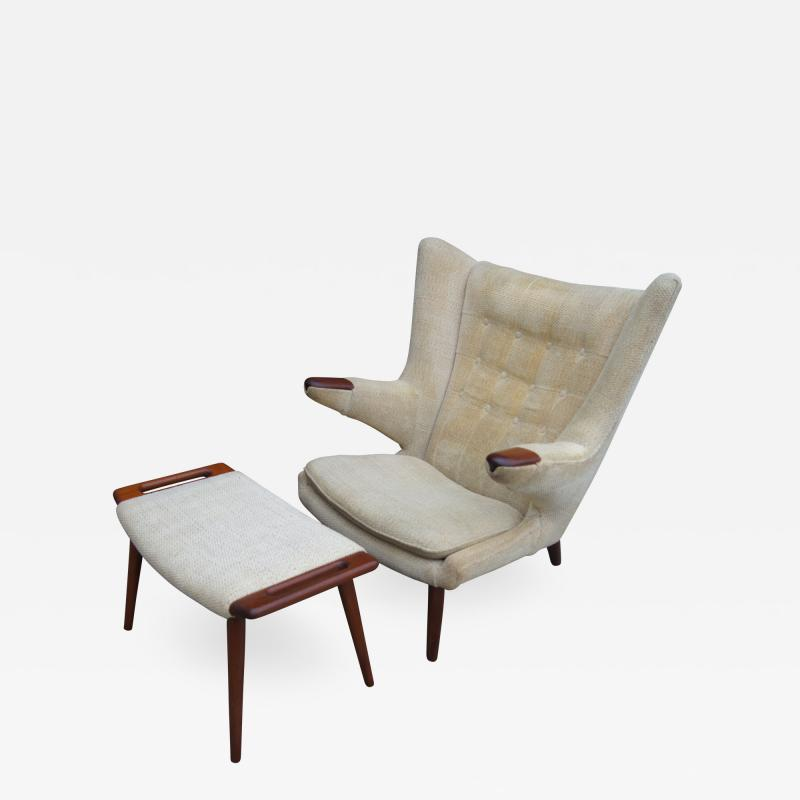Hans Wegner Hans Wegner Papa Bear chair and Ottoman