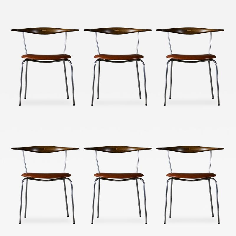 Hans Wegner Hans Wegner Set of 6 Dining Chairs