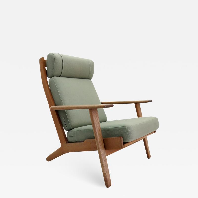 Hans Wegner High Back Chair GE 290 by Hans J Wegner