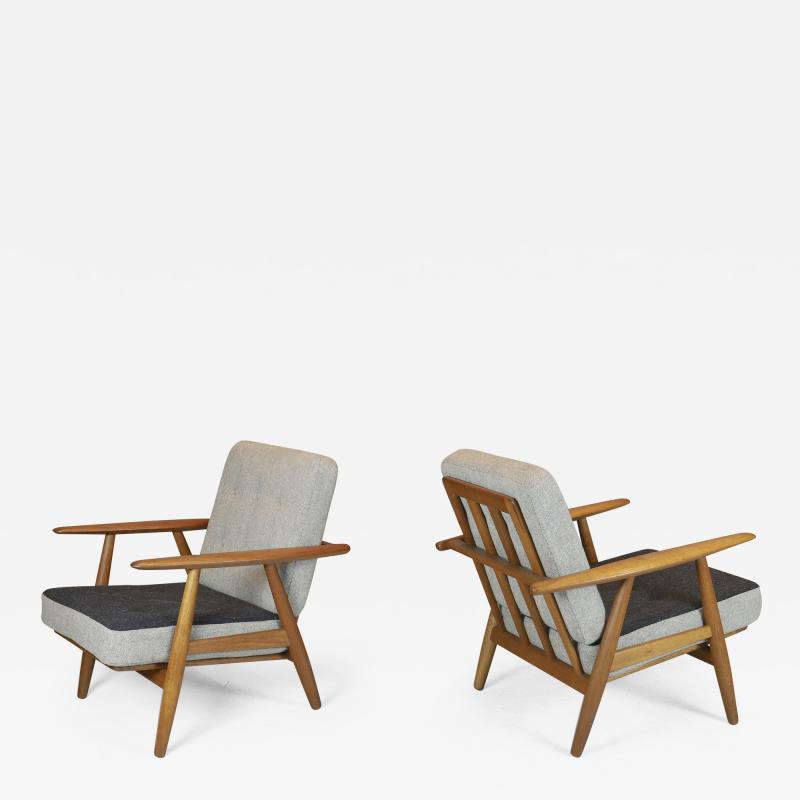 Hans Wegner Pair of Hans Wegner Cigar Chairs 1950s