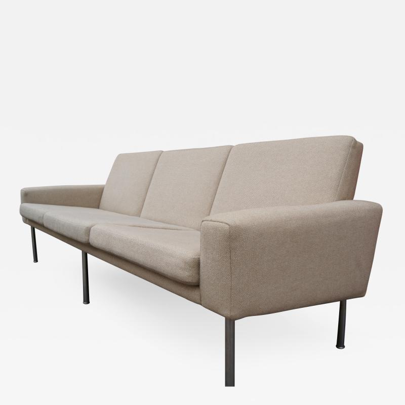 Hans Wegner Three Seat Sofa Model AP34 3 by Hans Wegner for A P Stolen