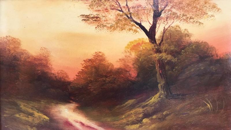Harold Sutton Palmer Sunset Dorking