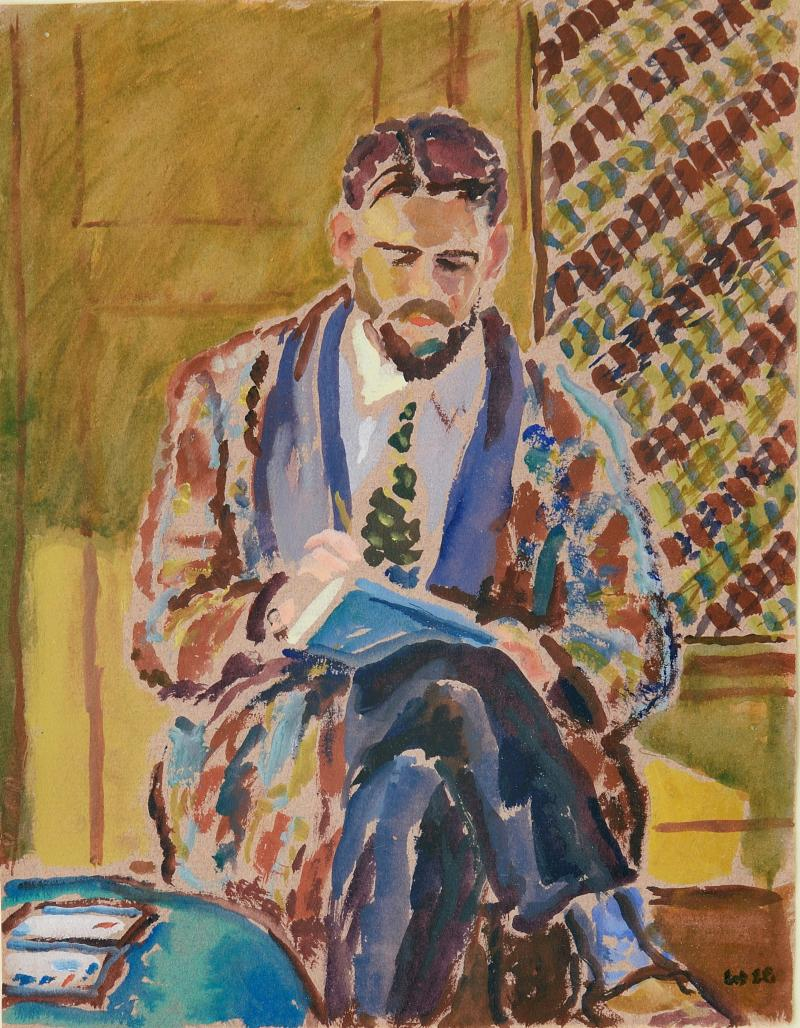Harold Weston Man Sketching