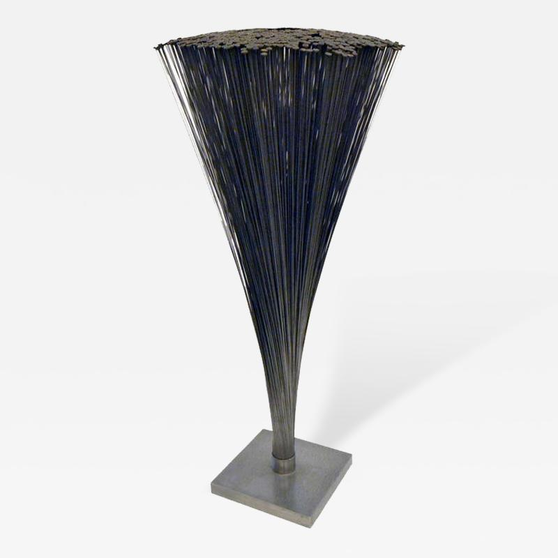 Harry Bertoia Bertoia Spray Sculpture with Rare Flat Rounded Ends