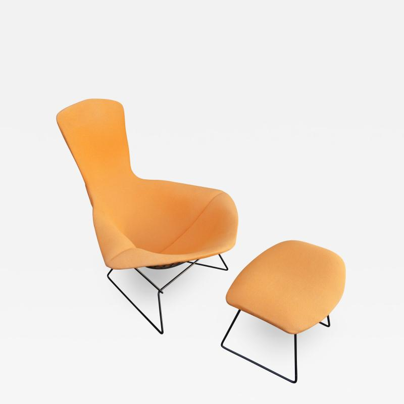 Harry Bertoia Bird Lounge Chair and Ottoman by Harry Bertoia for Knoll