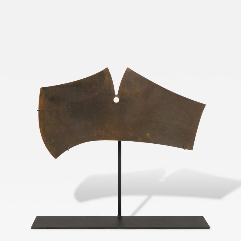 Harry Bertoia Harry Bertoia Bronze Gong Sculpture