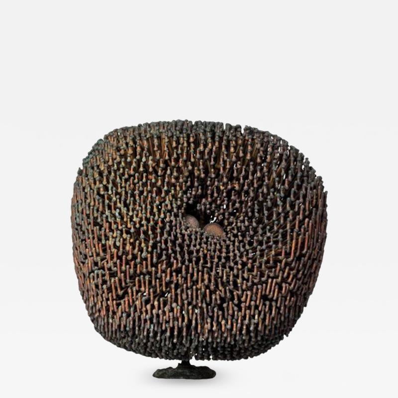 Harry Bertoia Harry Bertoia Bush Form Patinated Copper and Bronze Sculpture