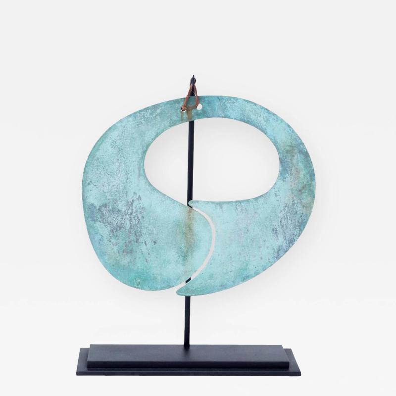 Harry Bertoia Harry Bertoia Patinated Bronze Gong