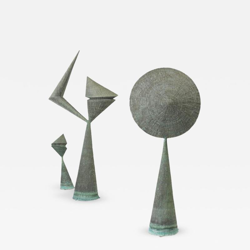 Harry Bertoia Important Harry Bertoia Sculptures from Stemmons Towers Dallas