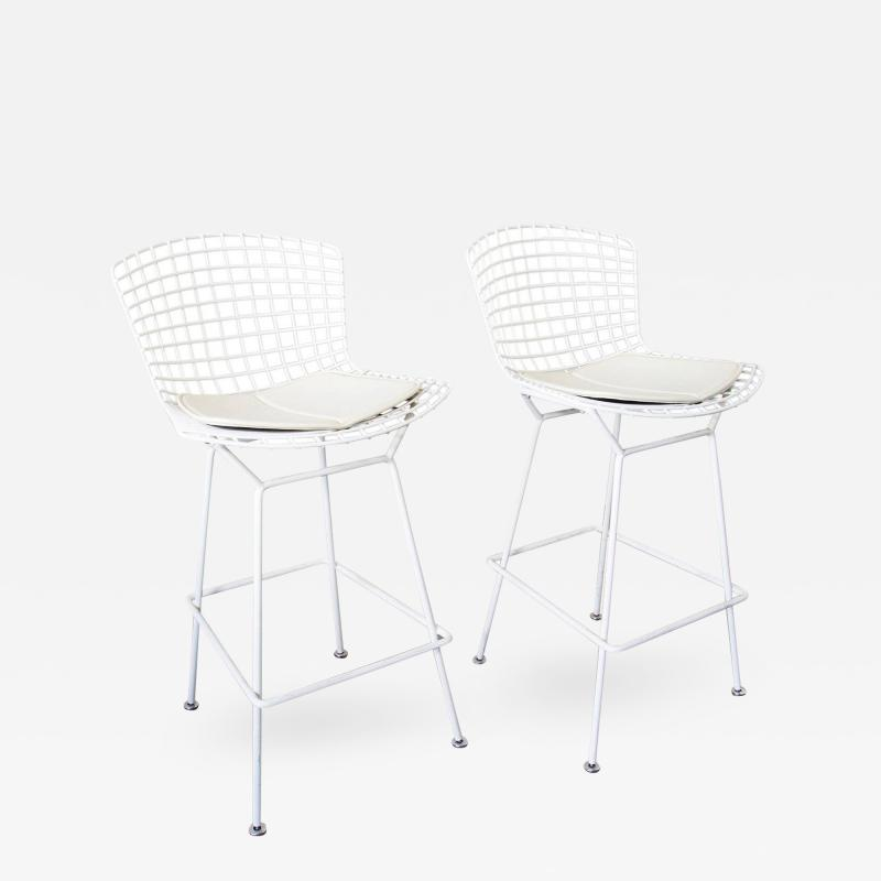 Harry Bertoia Set of Four Bar Stools By Harry Bertoia For Knoll