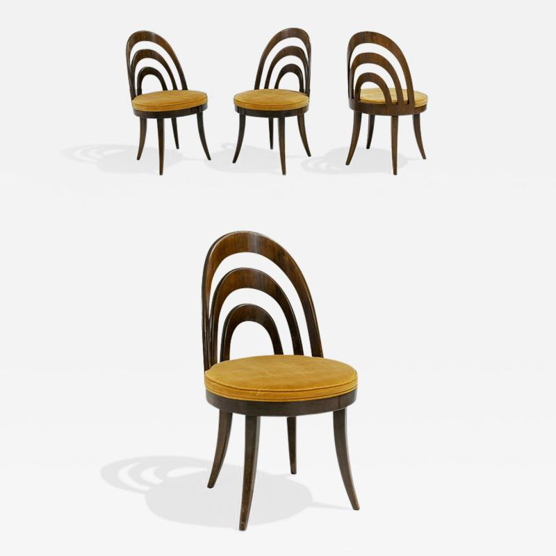 Harvey Probber 1950s Harvey Probber Dining Chairs