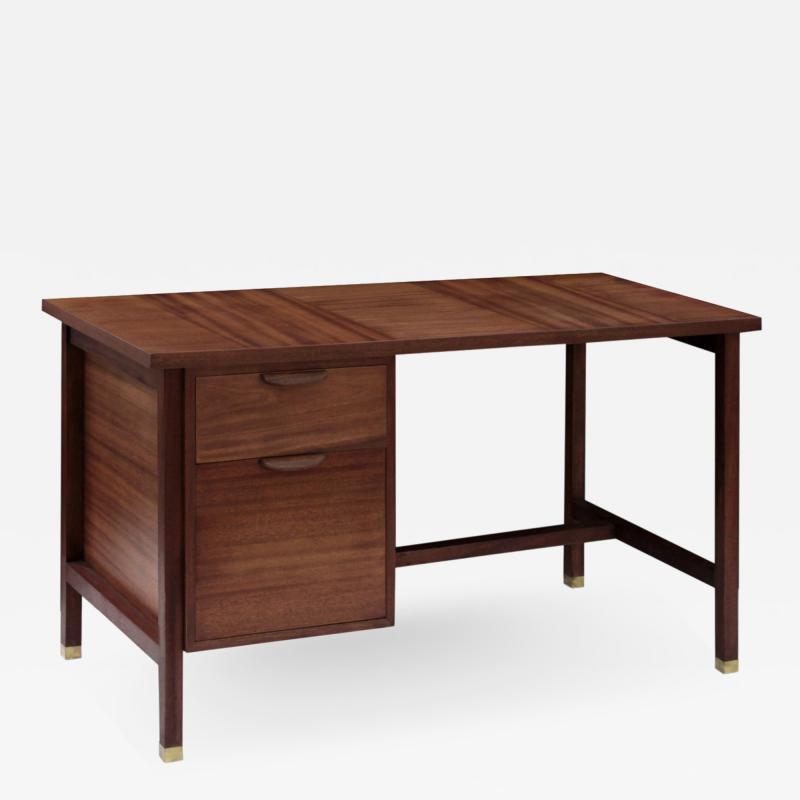 Harvey Probber Harvey Probber Desk in Mahogany 1950s Signed