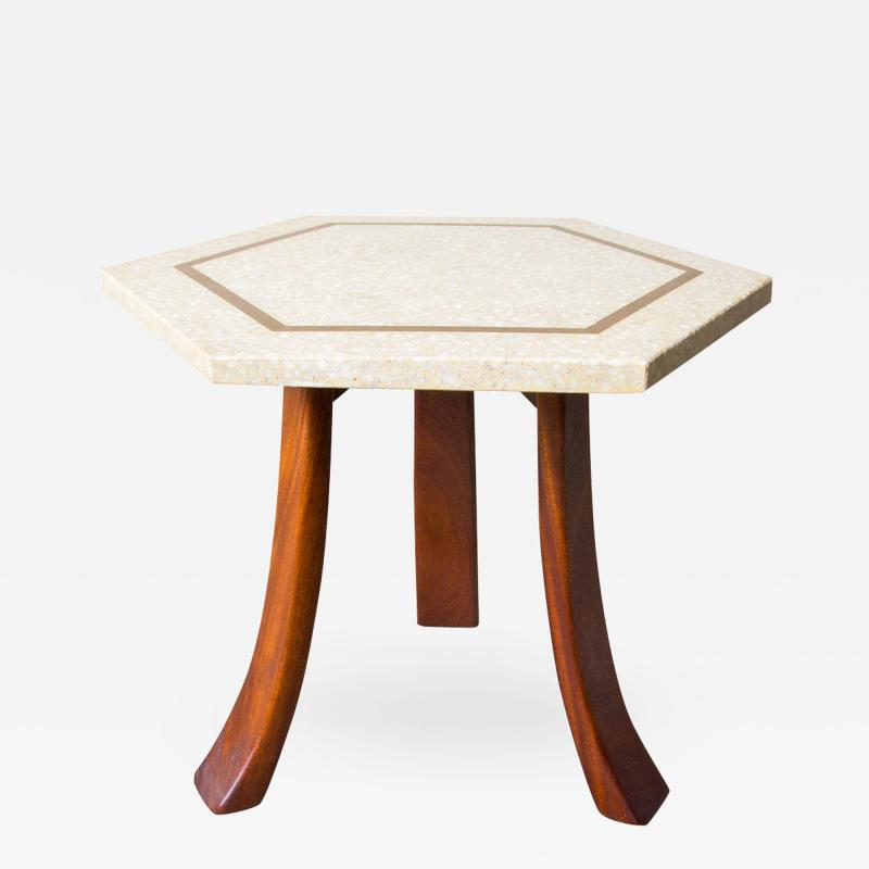 Harvey Probber Harvey Probber Hexagonal Side Table