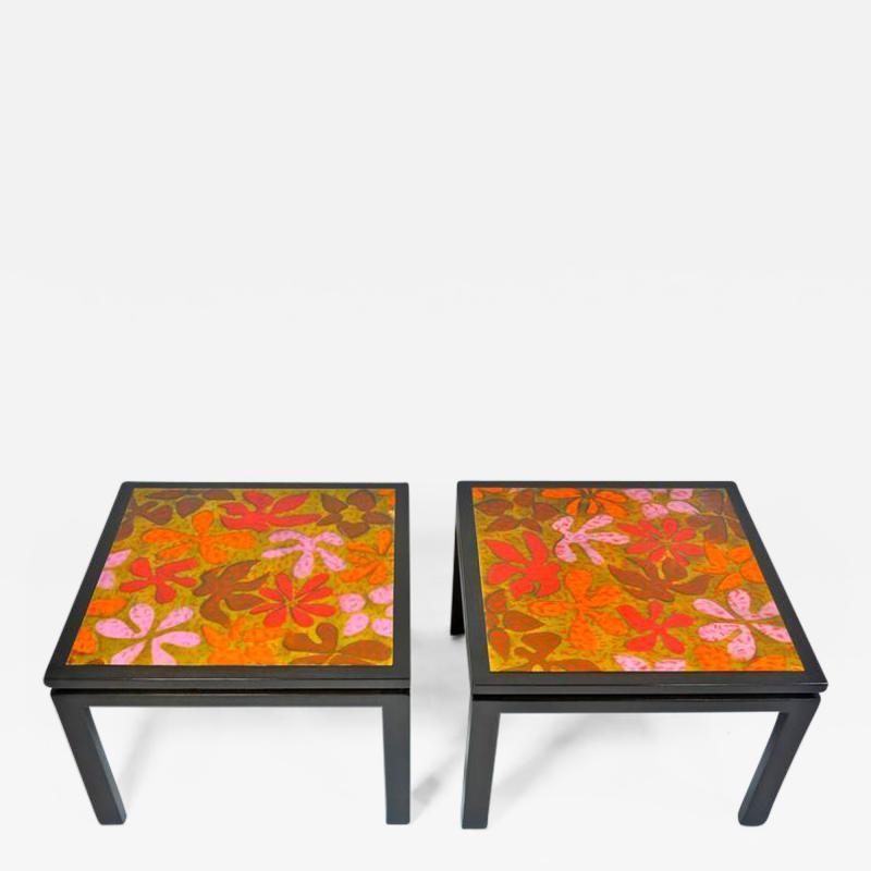 Harvey Probber Harvey Probber Side Tables