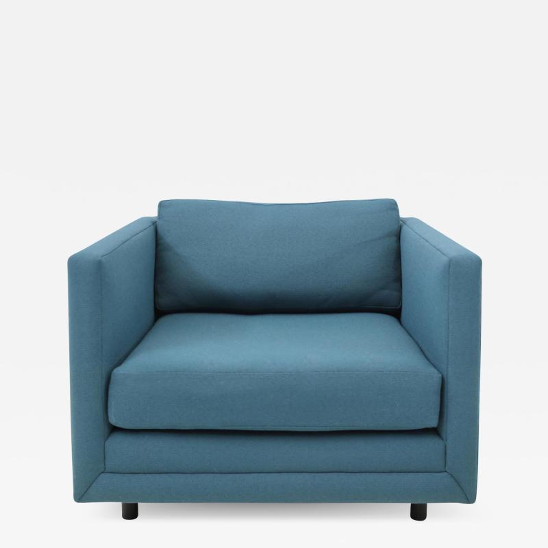 Harvey Probber Harvey Probber Tuxedo Lounge Chair
