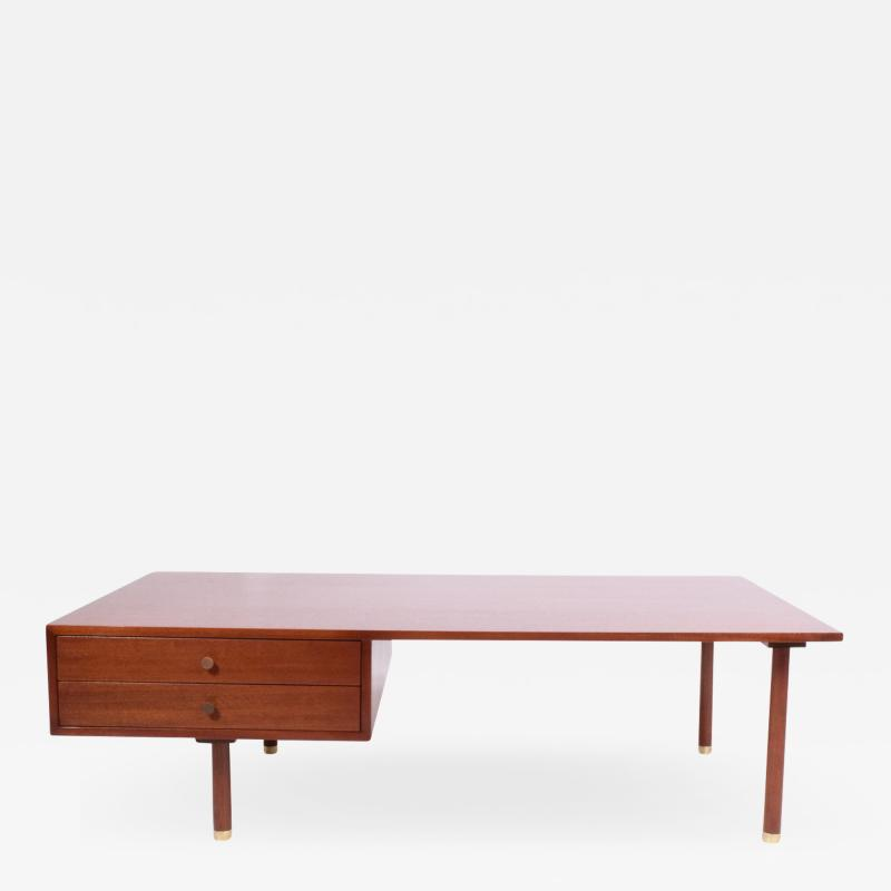Harvey Probber Large Mahogany Coffee Table by Harvey Probber