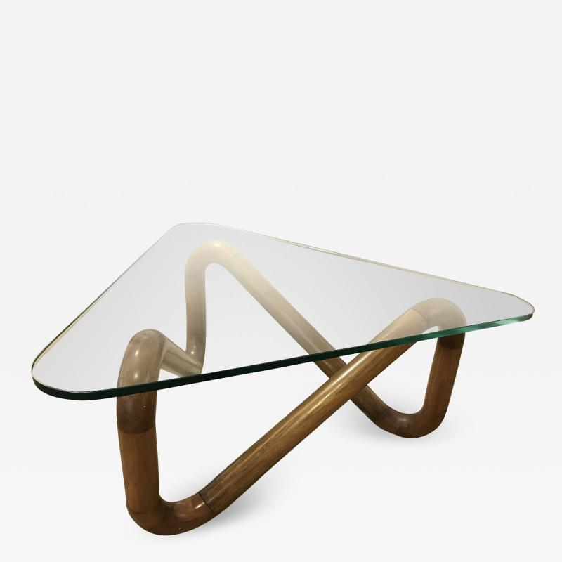Harvey Probber Triangle Table by Harvey Probber
