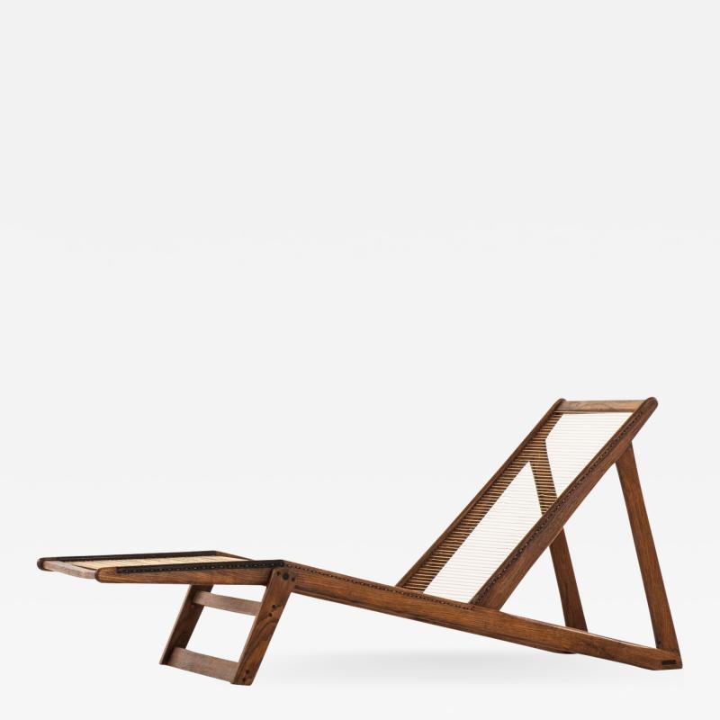 Helge Vestergaard Jensen Lounge Chair Produced by Cabinetmaker Peder Pedersen