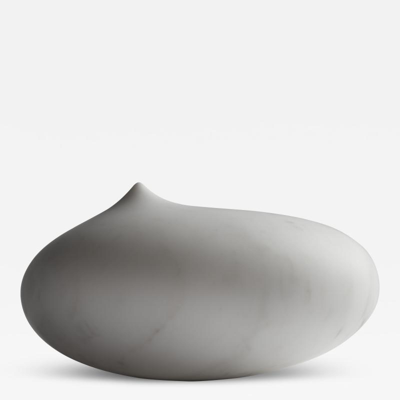 Helle Damkjaer Off Balance marble sculpture