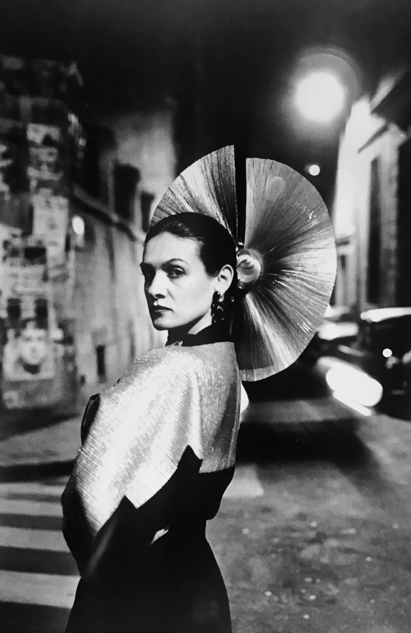 Helmut Newton Paloma Picasso In A Karl Lagerfeld Dress Paris 1978