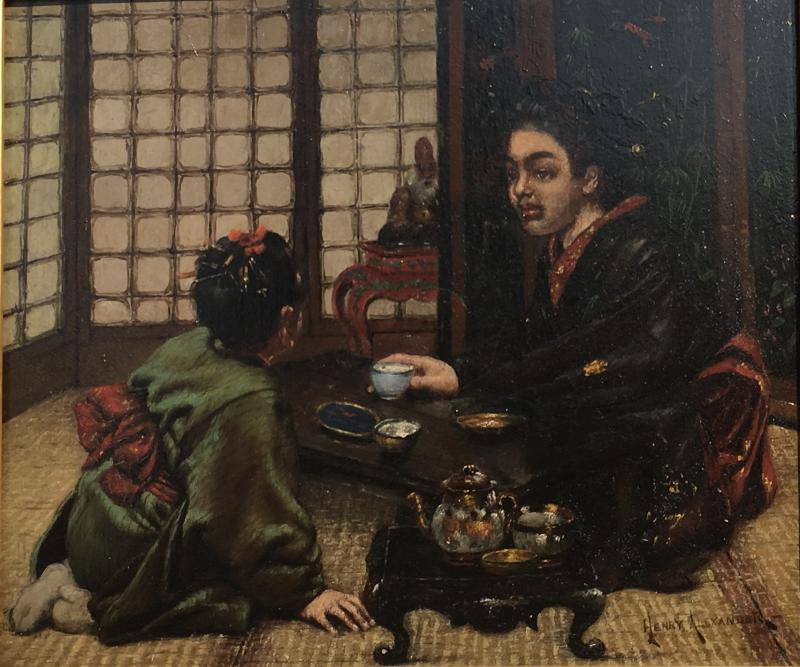 Henry Alexander Japanese Tea Ceremony