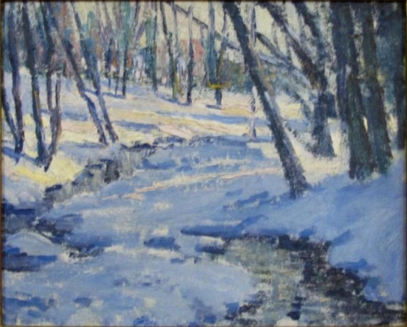 Henry Asbury Rand Winter Sunlight