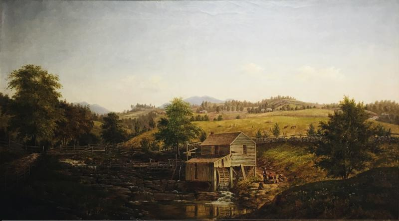 Henry Chapman Ford Miller at the Old Mill