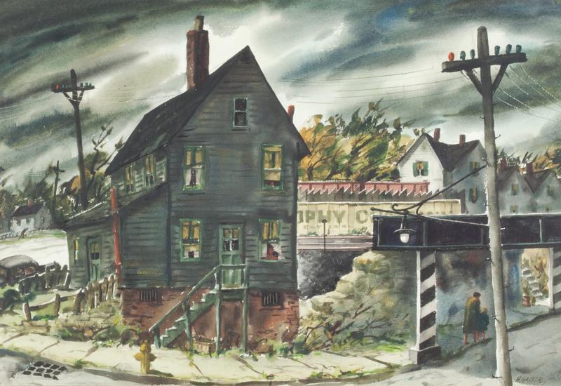Henry Martin Gasser The Underpass