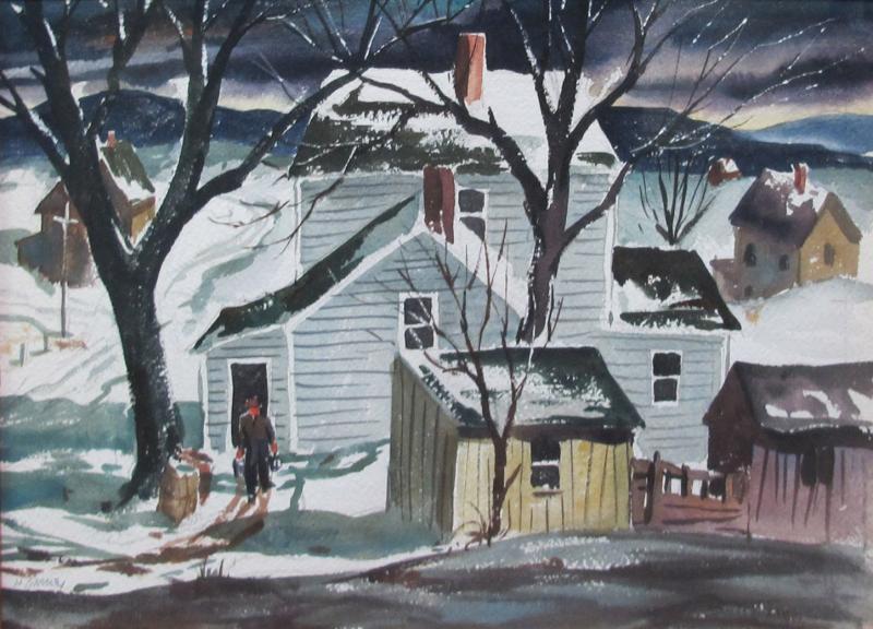 Henry Martin Gasser Winter Morning