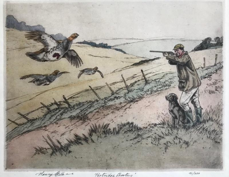 Henry Wilkinson Partridge Shooting