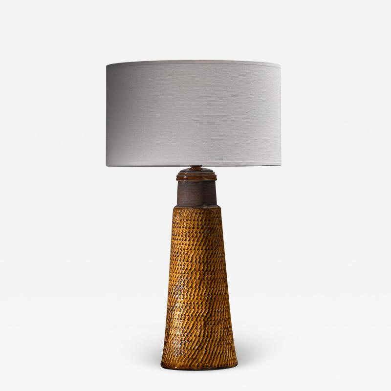 Herman H C K hler K hler ceramic table lamp