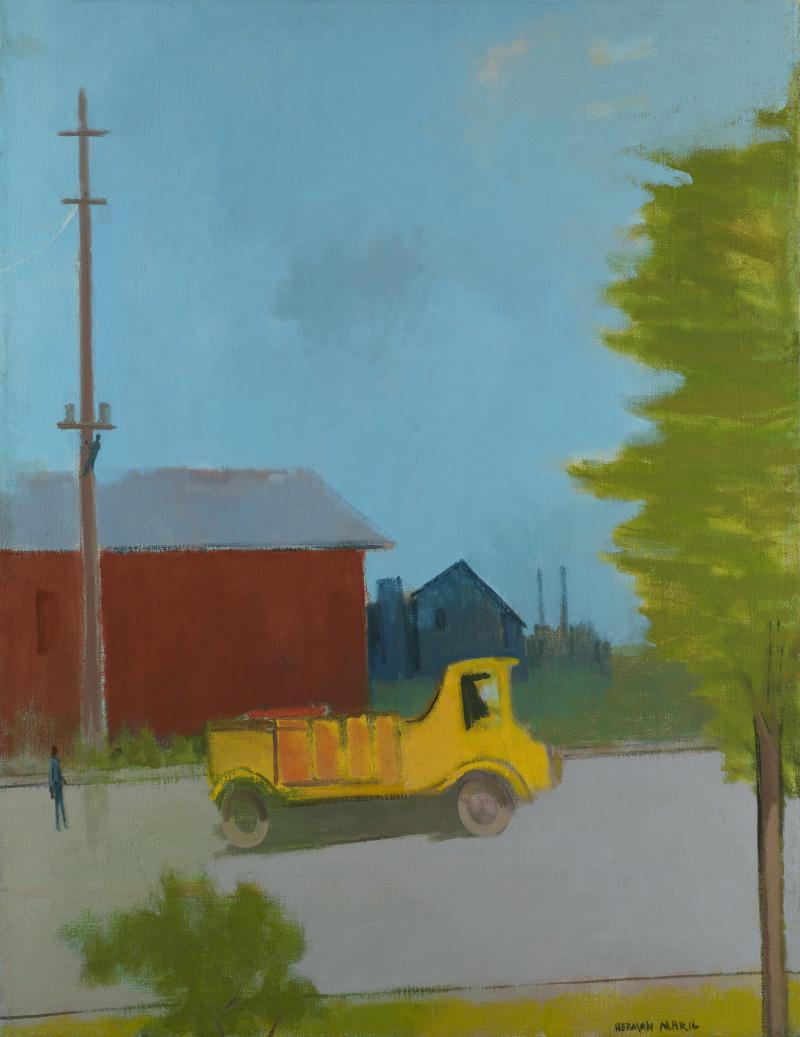 Herman Maril The Yellow Truck