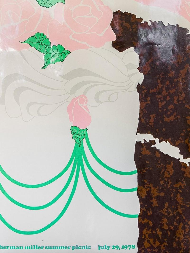 Herman Miller Herman Miller Summer Picnic Chocolate Cake Poster by Stephen Frykholm