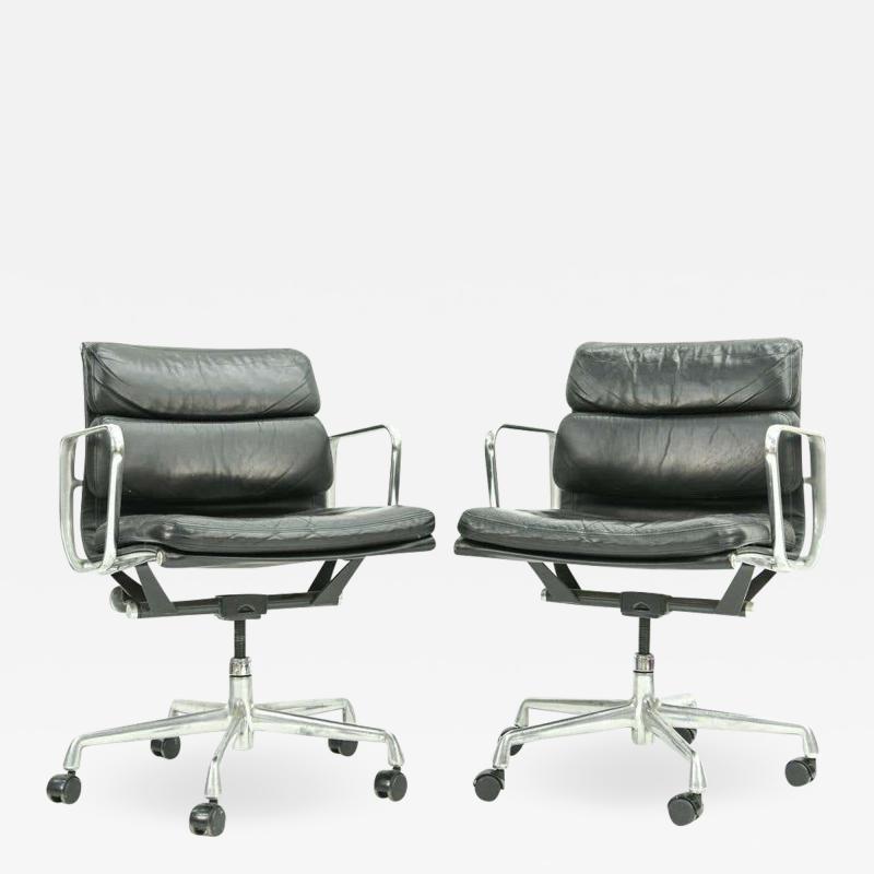 Herman Miller Pair of Herman Miller Soft Pad Office Chairs
