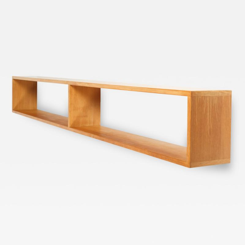 Hermann Baur Hermann Baur wall shelf oak 60s