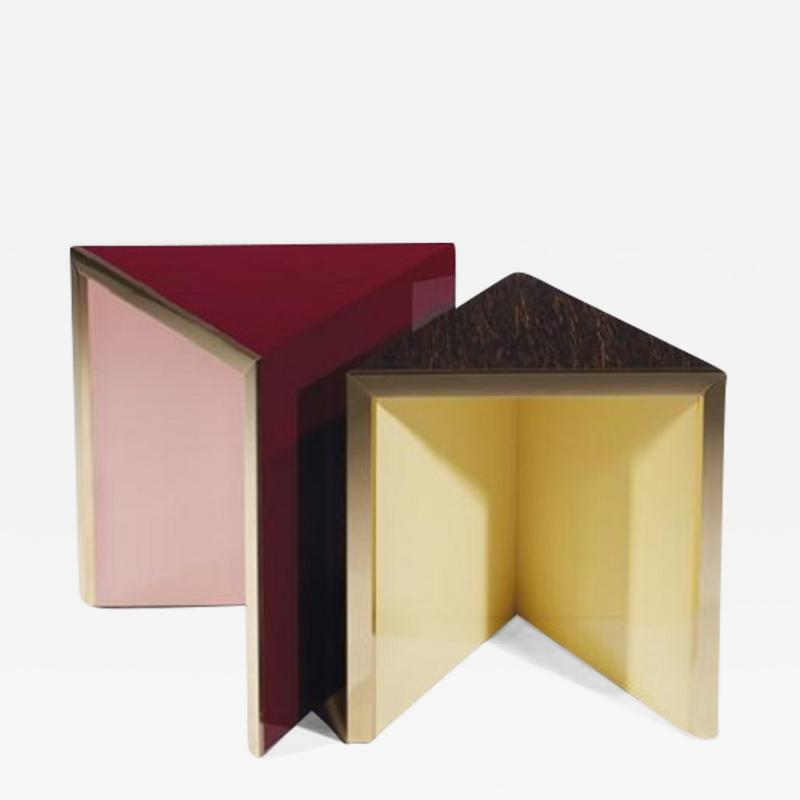 Herv Langlais Prism Pedestals I and II